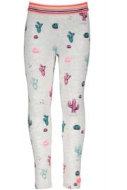 Girls Legging Big Cactus - B.Nosy-ecru melée