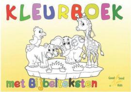 CBC-Kleurboek met bijbelteksten A4-Yellow