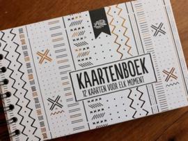 Kaartenboek - 12 Kaarten Voor Elk Moment-100% Leuk- White