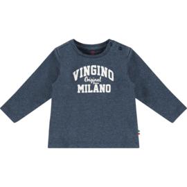 Vingino -Boys  T-Shirt Jay baby -Dark Blue Melange