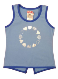 LoFff-Girls Summery Top-Blue