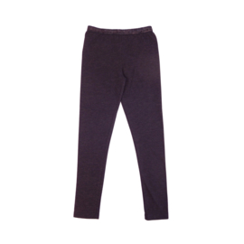 Girls FL Legging- LoveStation22- dark grey melange