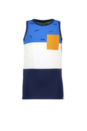 B.Nosy-Boys tanktop with 3 parts -Space Blue