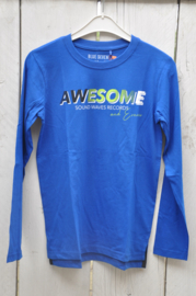 Boys knitted T-Shirt -Blue Seven- Royal