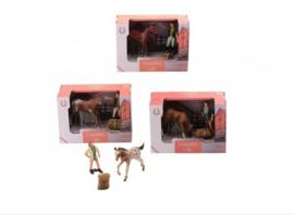 Paardenverzorging starterset 4 assorti-C-3 assorti