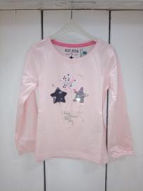 Blue Seven-Kids Girls knitted T-shirt-Rose