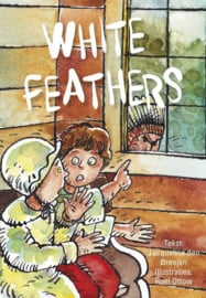 CBC-Breeien-White feathers-Multi Color
