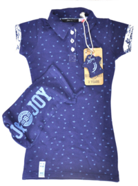 JnJoy-Girls DRESS- Italian Flower-Blue