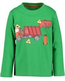 Blue Seven-Kids Boys knitted T-shirt-Green orig