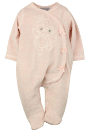 Baby Girls pre 1-pce Babysuit- Dirkje- Light Pink