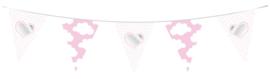 Vlaggenlijn Baby meisje 10ml-C-Roze
