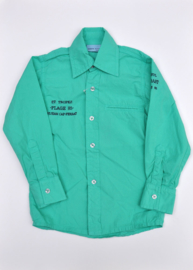 Boys Blouse- Porto Azul- Green