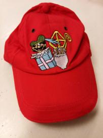 Baseballcap Sint en Piet- C.W.-Red