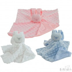 Soft Touch knuffeltje Bunny- LPC-Blue,Rose of White