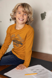 DJ Dutch Jeans-Boys T-shirt ls-Camel