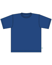 Kids  Boys 	Basic shirt- Blue Seven- Blue