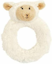 Unisex Lammy Rattle- Happy Horse- Ivory