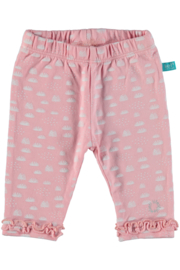 Baby Girls Legging Topical Love Newborn- Lief- Candy Pink AOP