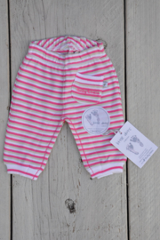 Baby Girls pre Pants-Ducky Beau-Rose stripe
