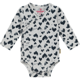 Vingino -Girls  Bodysuit Philou Baby- Dark Blue