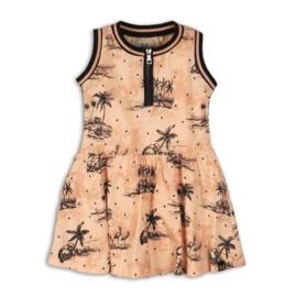 Koko Noko-Girls Dress-Blush + aop