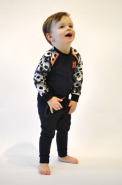 Mini Boys Sweater Teun  Jr.(denim) -Legends22-Denim/footbal