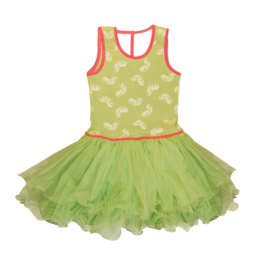 Girls Party Dress-LoFff-Mint