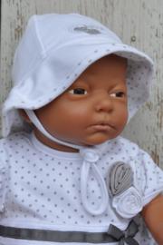 LPC-Baby Girls Muts Love- White silbergrey