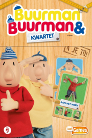 Just games-Buurman & Buurman Kwartet-Multi Color