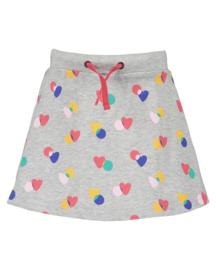 Blue Seven-Kids Girls knitted skirt-grey melee aop orig