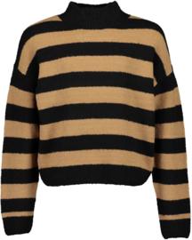 Blue Seven-Girls knitted pullover Basic-Black orig