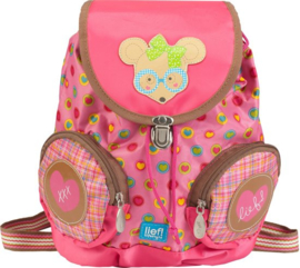 Girls Backpack-Fancy-Lief-Pink