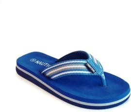 Unisex Flip-flop Trevano with Nautical upper-Libaco-Cobalt