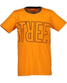 Blue Seven-Boys knitted T-Shirt-Orange Orig