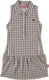 Girls Polo Dress Cornflower- Bakery Babes- Blauw