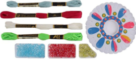 Free And Easy Hobbyset Armband Large-C-Multi Color