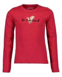 Blue Seven-Girls knitted t-shirt-High red orig