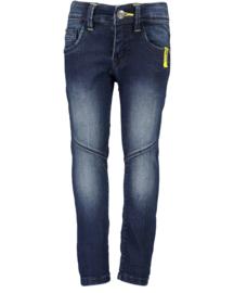 Blue seven-Kids Boys woven jeans trouser -DK Blue orig