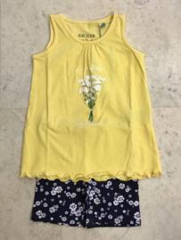 Blue Seven-Kids Girls knitted 2pcs set -Corn Yellow