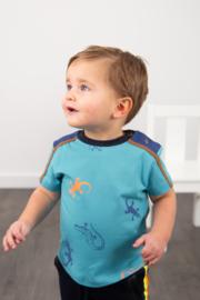 Legends22-Boys Baby T-Shirt  Omar Jr-Scuba Blue
