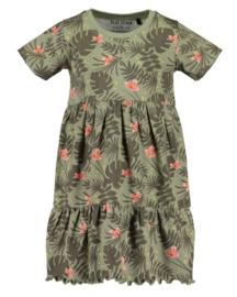 Blue Seven-Kids Girls knitted skirt -Tea aop orig