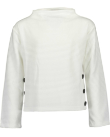 Girls knitted pullover-Blue Seven-Offwhite