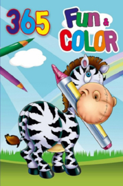 365 kleurboek- groothandel C- Zebra