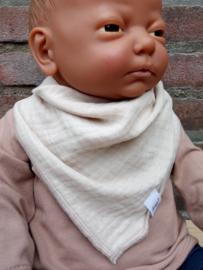 Maximo-Ewers-Unisex Mini Driehoekige sjaal-Sand