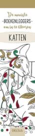 De mooiste kleurboekenleggers om in te kleuren - Katten-Deltas-White
