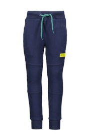 Boys Kids  sweat pants plain -Bampidano-Navy