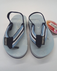 Unisex Flip-flops with Suns-Libaco-lightblue-maat 21t/m28
