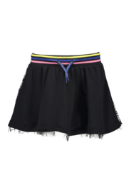 Girls lurex skirt with netting hem and YDS rib-B.Nosy-Black