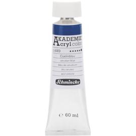Acryl color-cerulean blue (449), opaque, extr. fade resistant, 60ml-Schmincke AKADEMIE