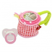 Girls Chick teat and dummy bag-Dushi-Rose